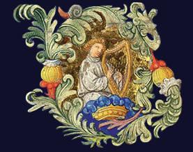 enluminure renaissance harpe