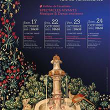 fontenay renaissance affiche festival veillées académie 2015-2016