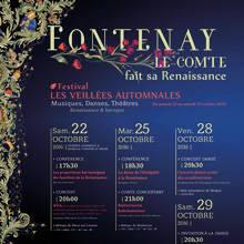 fontenay renaissance affiche festival veillées académie 2016-2017