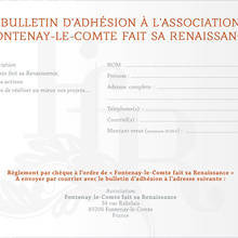fontenay renaissance bulletin inscription saison 2016-2017